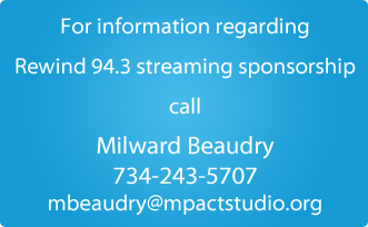 Rewind 94.3 - Streaming Sponsorship