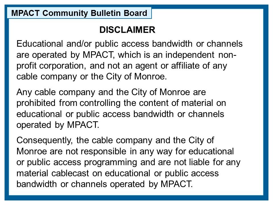 MPACT-Disclaimer